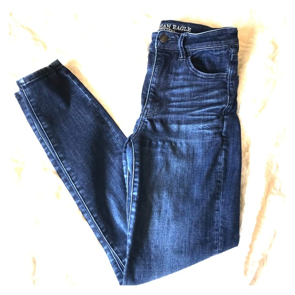 American Eagle Outfitters Denim - AEO Super Hi-Rise Skinny Jeggings Back To School